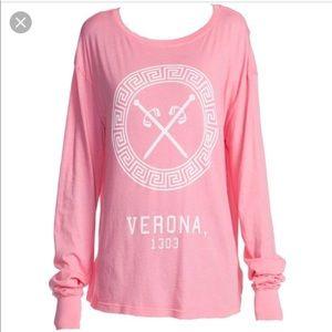 Pink WILDFOX Verona 1303 Long Sleeve Shirt